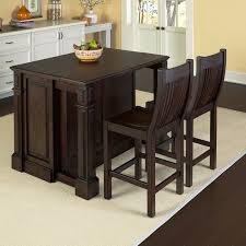 buy home styles monarch black slide out leg wood top kitchen