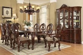 formal cherry dining room set afrozep com decor ideas and