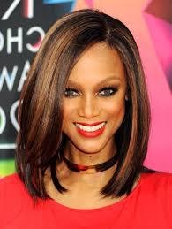 best hairstyles for relaxed hair how to style relaxed hair black women relaxed hair with highlights blackhairlab com