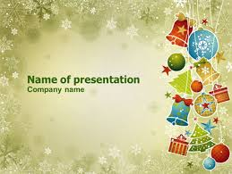 christmas holiday theme powerpoint template backgrounds 07273