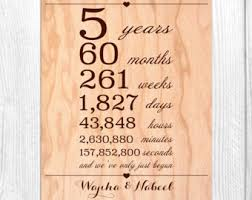 5th anniversary gift ideas for him 5th wedding anniversary gift new wedding ideas trends