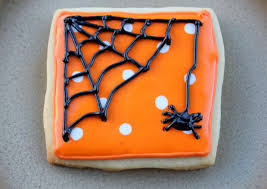 squibs and crackers spider halloween cookies
