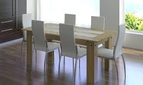 chaise cass e chaise cuir blanc salle a manger complate 6 chaises simili chaise