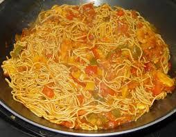 comment cuisiner les nouilles chinoises wok de poulet aux légumes et nouilles chinoises