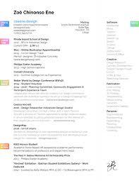 Ui Ux Resume