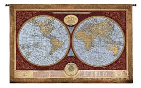 World Map Rug by Map Of The World Map Wall Tapestry H53