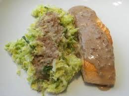 cuisiner du choux vert cuisine facile com saumon poêlé au choux vert