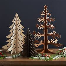 laser cut trees crate and barrel
