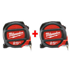 home depot black friday battery charger cat brand 2 pack milwaukee 25 u0027 magnetic tape measures slickdeals net