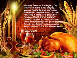 catholic thanksgiving day dinner prayers for families