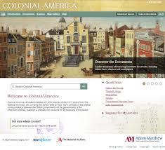 take a tour colonial america adam matthew digital