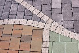 How To Build A Stone Patio by Laying Pavers For A Walkway Doityourself Com