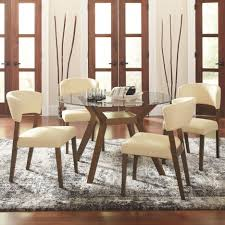 paxton 5 piece round dining table set side chairs coaster 122180 coaster 122180 122182 cb48rd paxton 5 pc round dining table chairs set main image