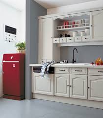 Peinture Rouge Cuisine by