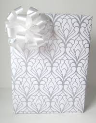 silver wrapping paper deco damask wedding wrapping paper in silver and white 10 ft x