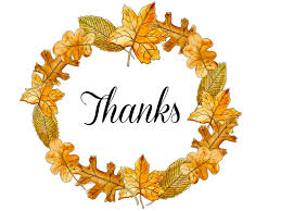 thanksgiving thank you clipart 54