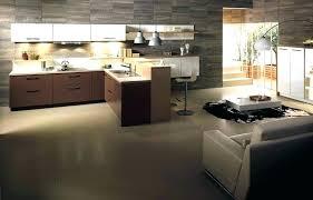 deco salon cuisine ouverte decoration salon cuisine stunning decoration interieur salon cuisine