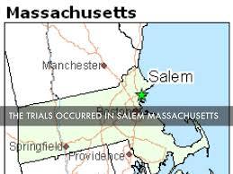 Salem Massachusetts Map by Salem Witch Trials By Josiah Sarakun By Josiah Sarakun