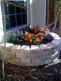how to build a retaining wall flower bed hunker