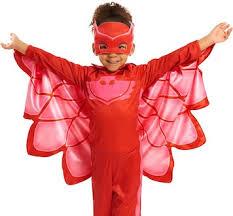 Rated Halloween Costumes Pj Masks Costumes Catboy Gekko U0026 Owlette Toys