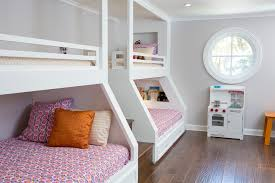 Bunk Bed Lighting Ideas Kids Traditional With Builtin Bunk Beds - Kids built in bunk beds
