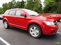 Dodge Journey Sxt - brilliant red tri coat pearl 2012 dodge journey sxt exterior photo