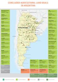 Latin America Map by Announcements Land Matrix