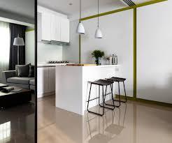 pendant lighting kitchen island breakfast bar apartment in l over