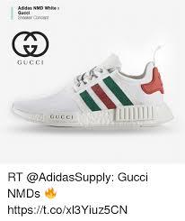 adidas x gucci adidas nmd white x gucci sneaker concept gu cci g u c c i rt gucci