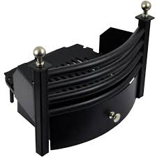 laxton front grate cast iron coal ash pan fuel black chrome safety