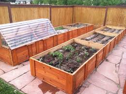 cedar garden beds diy home outdoor decoration