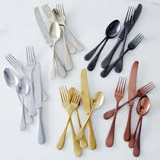 How To Set Silverware On Table Italian Flatware Vintage 5 Piece Set Flatware Dinnerware