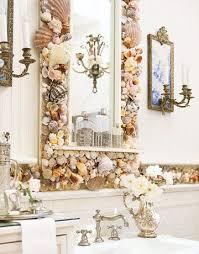 seashell bathroom ideas 37 rustic bathroom decorating ideas shell and bathroom mirrors