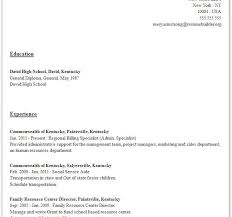 quick resume template alfa img showing resume example download