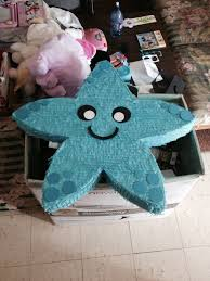 themed pinata starfish piñata for a themed party jcsn kree8ions