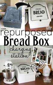 charging box repurposed bread box charging station prodigal pieces
