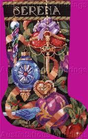 ornaments needlepoint kit