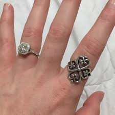 avery adorned hearts ring 28 avery jewelry avery adorned hearts ring size