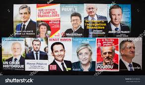 france april 2017 french presidential election stock photo