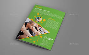 gym brochure templates sport gym brochure template inner page