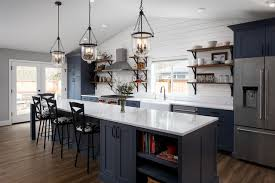 navy blue kitchen cabinet pulls 6 hardware styles to pair with blue shaker cabinets
