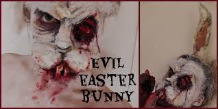 Halloween Bunny Makeup by Evil Zombie Easter Bunny Fx Make Up Tutorial Youtube