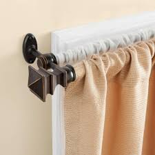 decorative curtain rods lowes stupendous nice target for appealing