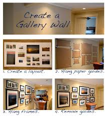 How To Design A Gallery Wall by A Home In The Making Create Gallery Wall Part Deux