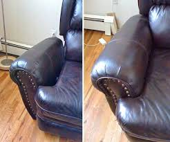 Leather Sofa Repair Service Leather Repair Services Before And After Images