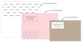 design matching envelopes liners address labels invite shop