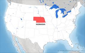 Nebraska State Map by Where Is Nebraska Located On The Map