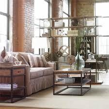 Urban Loft Style - chic loft apartment furniture ideas living room design industrial