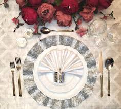 how to set a table with napkin rings metallic napkin rings for table settings decoration dinner parties