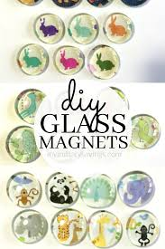 see how to make these super cute diy glass magnets add this to